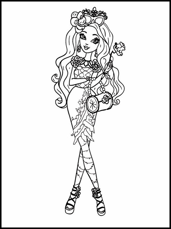 Dibujos Para Imprimir Ever After High 3