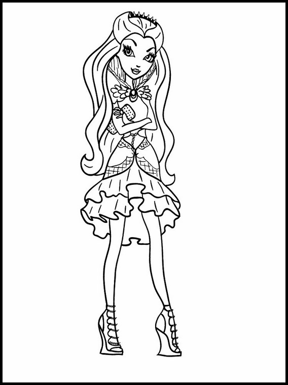 Imprimir Dibujos Para Colorear Ever After High 8