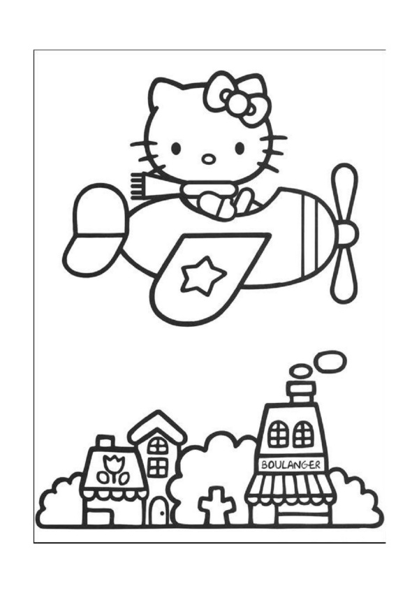 Dibujos Faciles Para Imprimir Hello Kitty 30