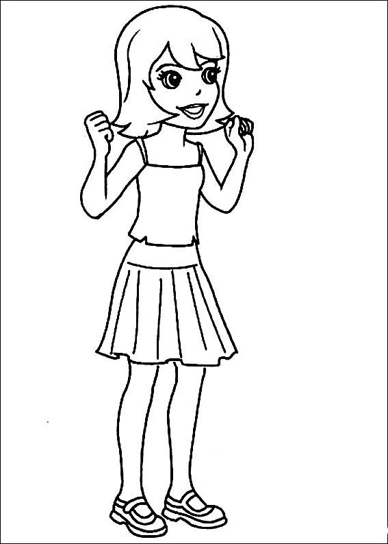 Polly pocket para imprimir y colorear 29 - Coloriage polly pocket ...